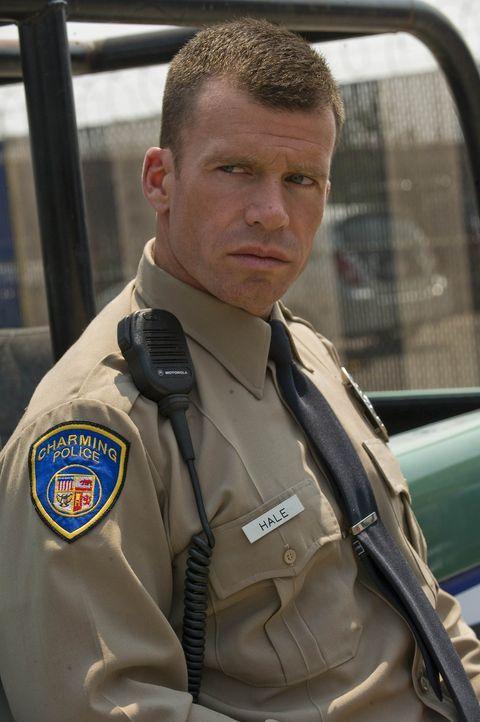 """Deputy Chief David Hale (Taylor Sheridan) wird nicht eher ruhen, bis die """"Sons of Anarchy"""" aus Charming vertrieben sind ... - Bildquelle: 2008 FX Networks, LLC. All rights reserved."""