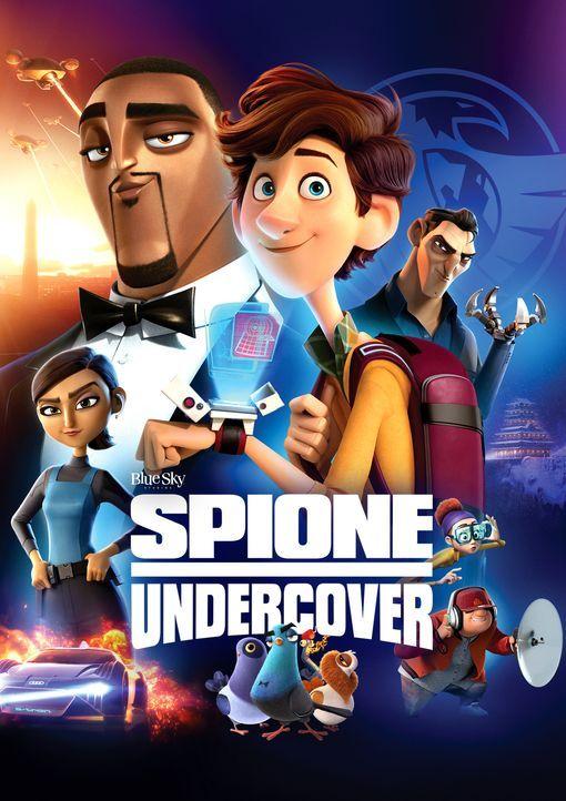 Spione Undercover - Eine wilde Verwandlung - Artwork - Bildquelle: 2019 Twentieth Century Fox Film Corporation. All Rights Reserved. Not for sale or duplication.