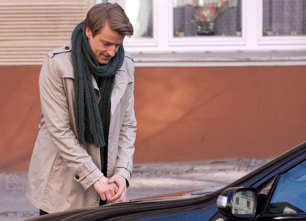 Hat es auf einen bestimmten Mercedes-Stern abgesehen: David (Max von Pufendorf) ... - Bildquelle: Conny Klein SAT.1