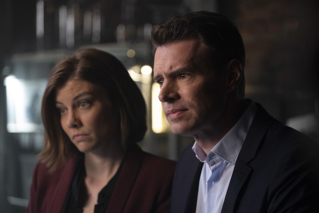 Frankie Trowbridge (Lauren Cohan, l.); Will Chase (Scott Foley, r.) - Bildquelle: Dusan Martincek 2018 American Broadcasting Companies, Inc. All rights reserved.