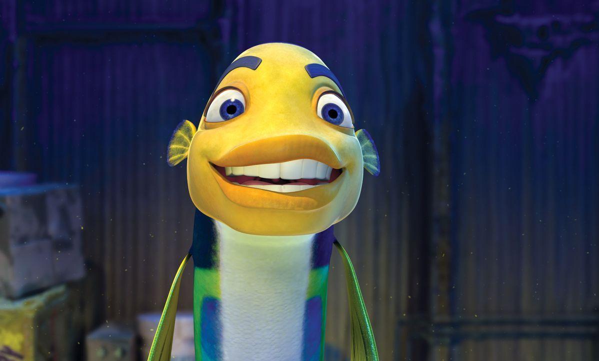Oscar ist nur ein kleiner Fisch in der Unterwasserwelt des heimischen Southside Riffs. Er arbeitet in der Walwäscherei des Kugelfisches Sykes und t... - Bildquelle: United International Pictures