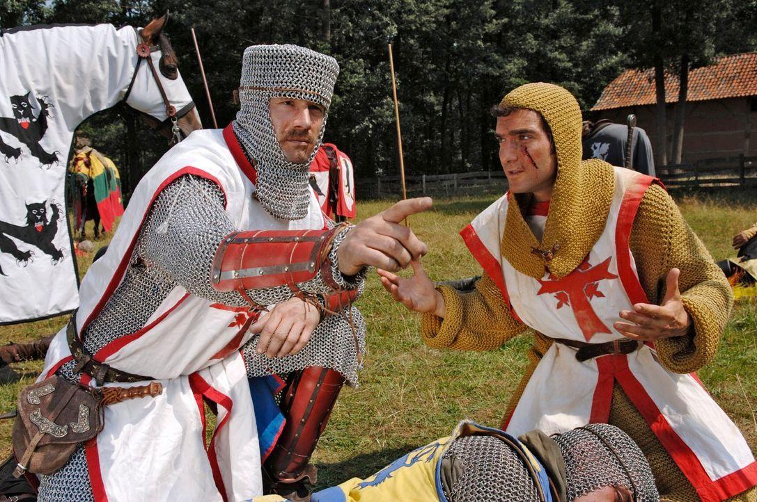 Schlachten wurden auch bereits im Mittelalter aus verschiedensten Gründen geschlagen - meist jedoch ging es um Gold und edle Steine. Was jedoch ist... - Bildquelle: Guido Engels Sat.1
