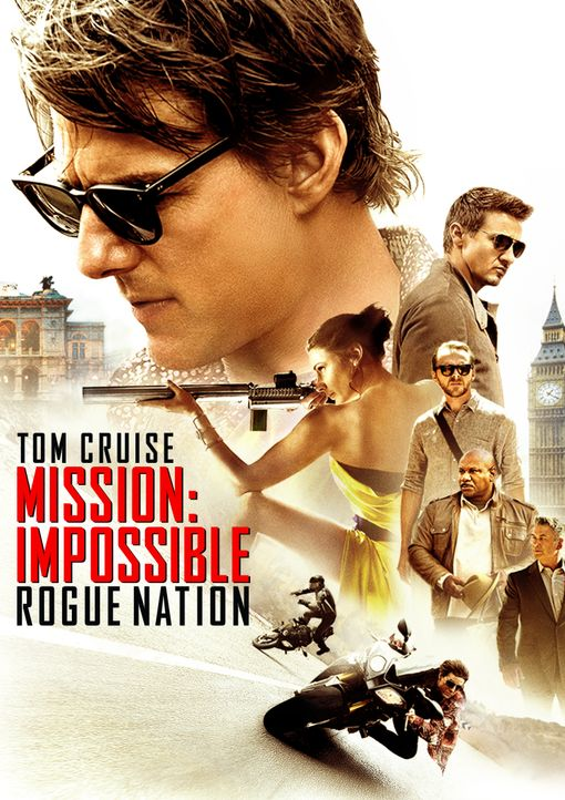 MISSION: IMPOSSIBLE - ROGUE NATION - Plakatmotiv - Bildquelle: Keith Hamshere 2015 PARAMOUNT PICTURES. ALL RIGHTS RESERVED. / Keith Hamshere