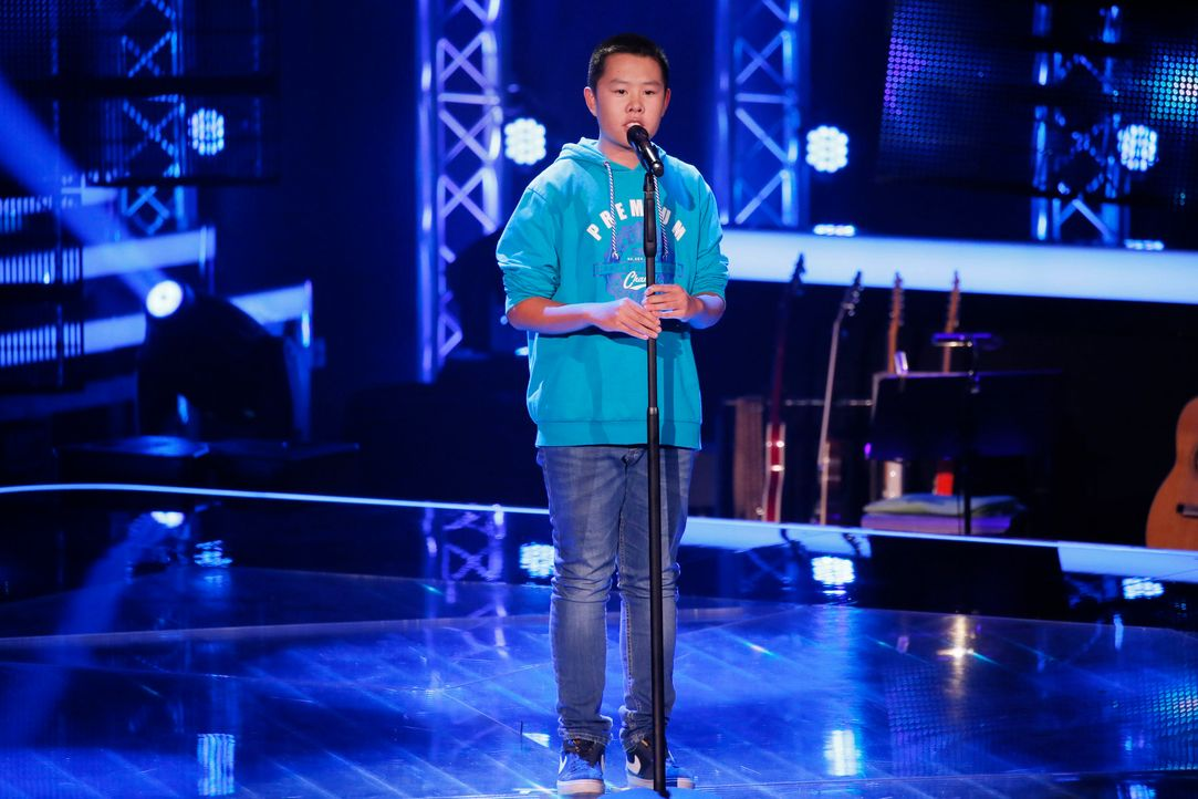 The-Voice-Kids-Stf04-Epi03-Danach-35-The-Anh-SAT1-Richard-Huebner - Bildquelle: SAT.1/ Richard Hübner