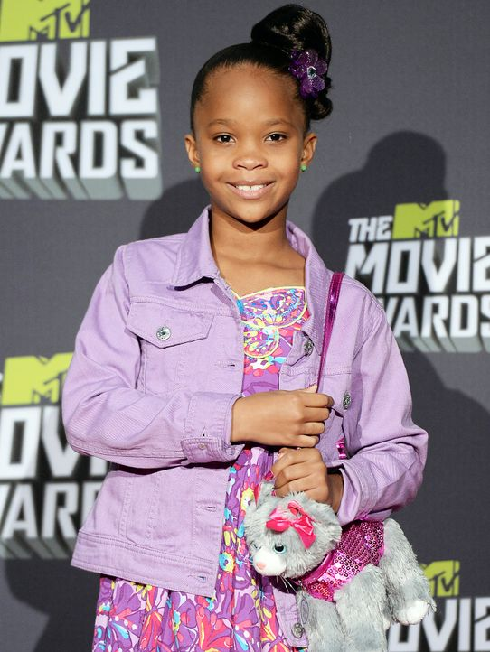 mtv-movie-awards-130414-Quvenzhane-Wallis-getty-AFP - Bildquelle: getty-AFP