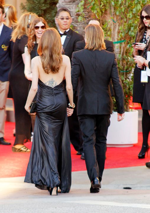 Schauspieler Angelina Jolie und Brad Pitt bei den Screen Actors Guild Awards (SAG)  - Bildquelle: RHS/WENN.com