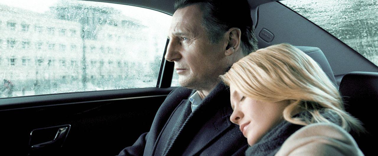 Dr. Martin Harris (Liam Neeson, l.); Elizabeth Harris (January Jones, r.) - Bildquelle: 2011 DARK CASTLE HOLDINGS, LLC/STUDIOCANAL S.A.