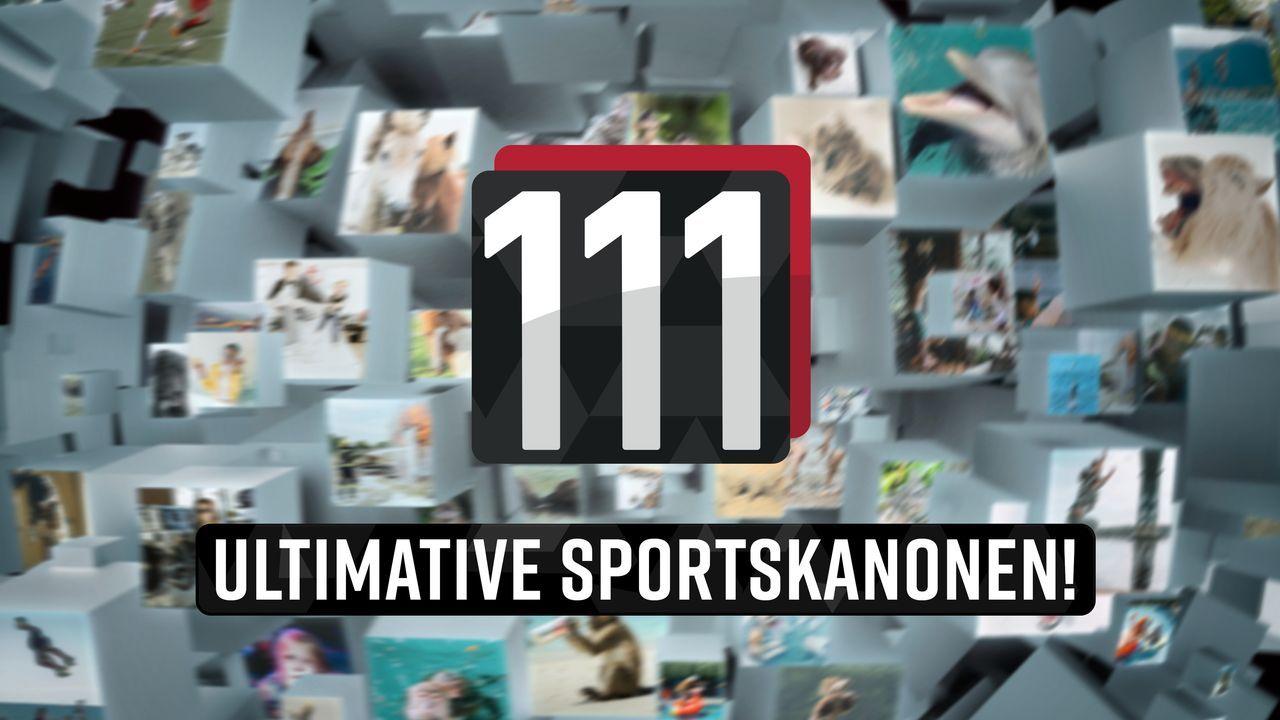 111 ultimative Sportskanonen! - Logo - Bildquelle: SAT.1