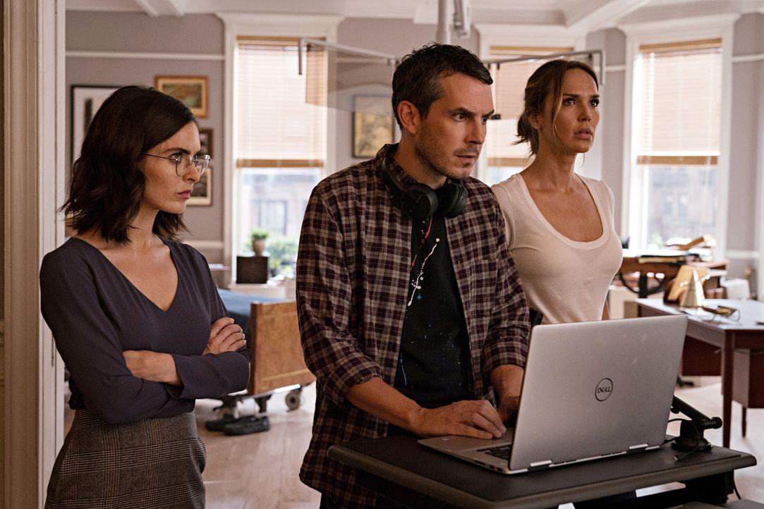 (v.l.n.r.) Kate (Brooke Lyons); Felix (Tate Ellington); Amelia Sachs (Arielle Kebbel) - Bildquelle: Elizabeth Fisher 2020 NBCUniversal Media, LLC / Elizabeth Fisher