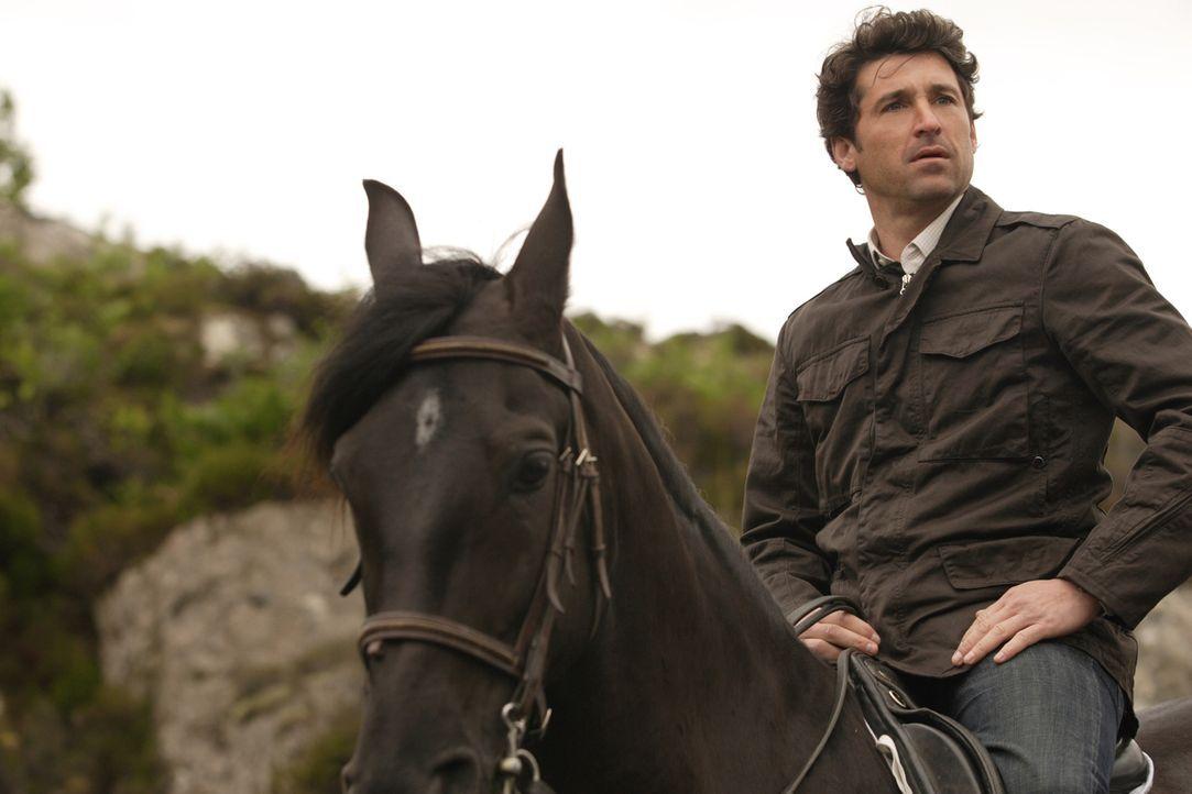 Um die Hochzeit doch noch zu verhindern, leiht sich Tom (Patrick Dempsey) ein Pferd aus. Wird er es noch rechtzeitig in die Kirche schaffen, bevor H... - Bildquelle: 2008 Columbia Pictures Industries, Inc. and Beverly Blvd LLC. All Rights Reserved.