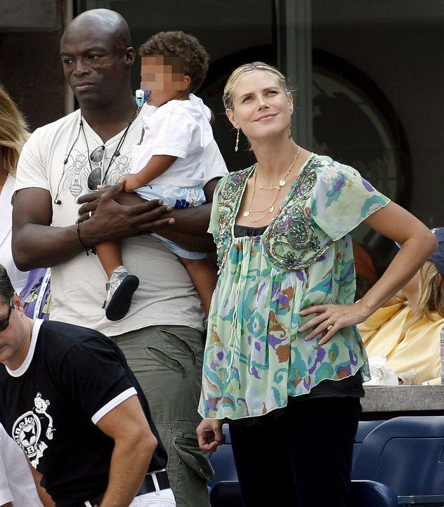 Die schwangere Heidi Klum - Bildquelle: +++(c) dpa - Bildfunk+++ Verwendung nur in Deutschland