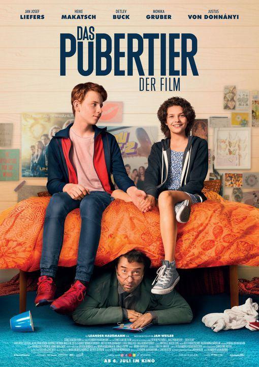 Das Pubertier - Der Film - Filmplakat - Bildquelle: 2017 Constantin Film Verleih GmbH