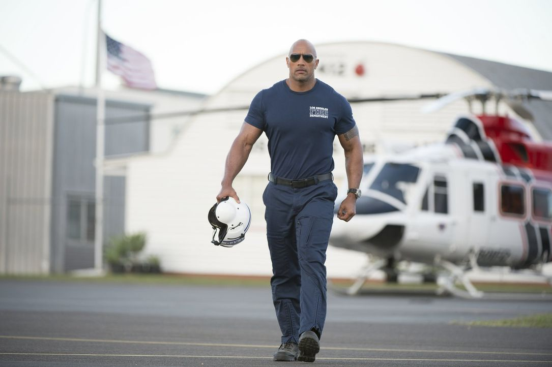 Wird es dem Rettungsflieger Raymond Gaines (Dwayne Johnson) gelingen, seine Exfrau und seine Tochter aus dem Katastrophengebiet mitten in Kalifornie... - Bildquelle: 2014 Warner Bros. Entertainment Inc.