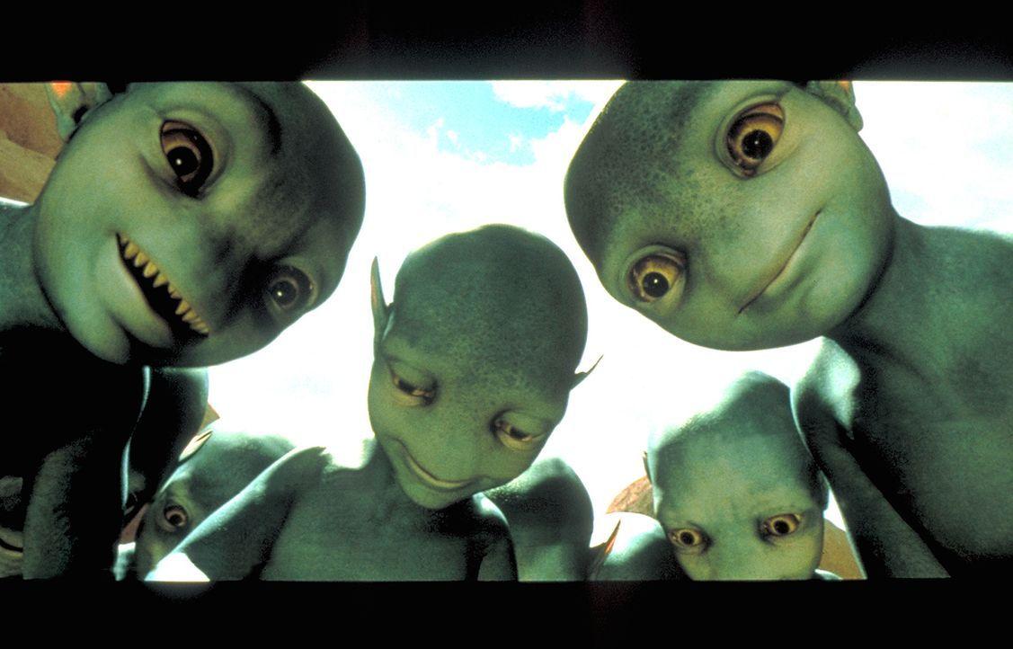 Die Thermianer verkalkulieren sich gewaltig ... - Bildquelle: DreamWorks Distribution LLC