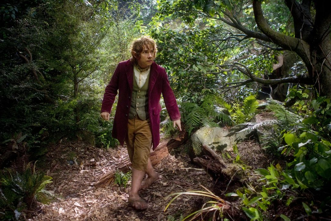Begibt sich als Meisterdieb auf eine unerwartete Reise und weiß nicht, ob er jemals zurückkehren wird: Hobbit Bilbo Beutlin (Martin Freeman) ... - Bildquelle: Todd Eyre 2012 METRO-GOLDWYN-MAYER PICTURES INC. AND WARNER BROS.ENTERTAINMENT INC. ALL RIGHTS RESERVED.