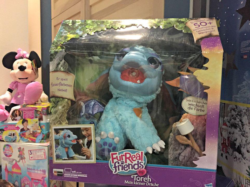"""3. """"FurReal Friends - mein kleiner Drache"""" von Hasbroca. 129,99€"""