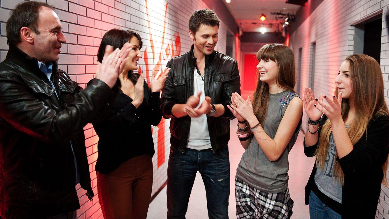 The-Voice-Kids-epi03-danach-Dana-Rosa-1-SAT1-Andre-Kowalski - Bildquelle: SAT.1/Andre Kowalski
