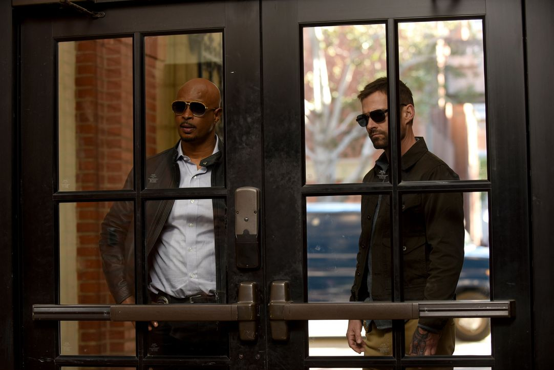Roger Murtaugh (Damon Wayans, l.); Wesley Cole (Seann William Scott, r.) - Bildquelle: Ray Mickshaw 2019 Warner Bros. Entertainment Inc. All Rights Reserved.