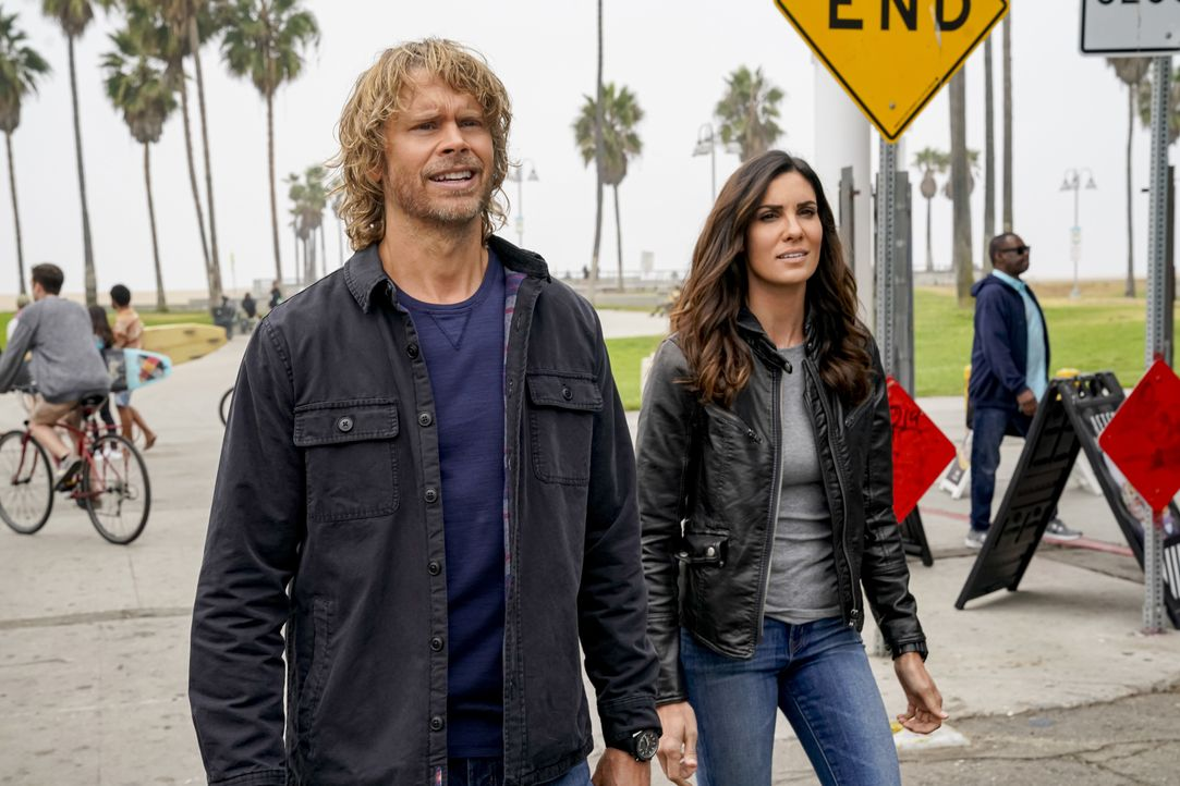 Marty Deeks (Eric Christian Olsen, l.); Kensi Blye (Daniela Ruah, r.) - Bildquelle: Cliff Lipson 2019 CBS Broadcasting, Inc. All Rights Reserved. / Cliff Lipson
