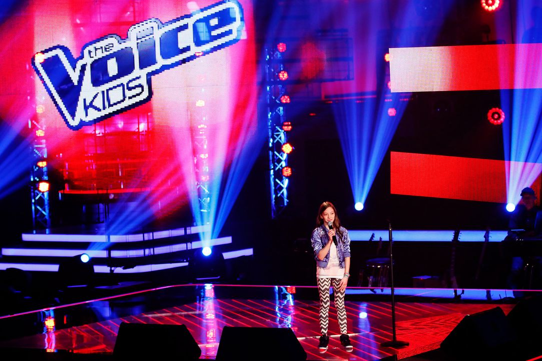 The-Voice-Kids-Stf03-Epi02-Danach-Lorena-7-SAT1-Richard-Huebner - Bildquelle: SAT.1/Richard Huebner