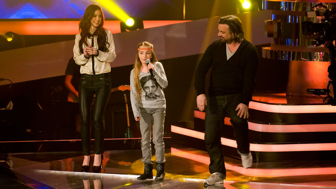 The-Voice-Kids-Nachher-Fabienne-05-Richard-Huebner - Bildquelle: SAT.1/Richard Hübner