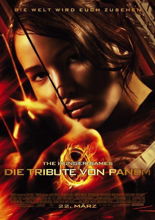 TRIBUTE VON PANEM, DIE - THE HUNGER GAMES - Plakatmotiv - Bildquelle: Studiocanal GmbH