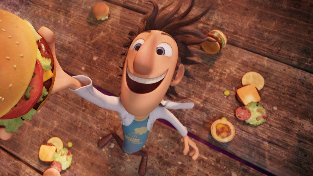 Wolkig mit Aussicht auf Fleischbällchen - Bildquelle: 2009 Sony Pictures Animation Inc. All Rights Reserved.