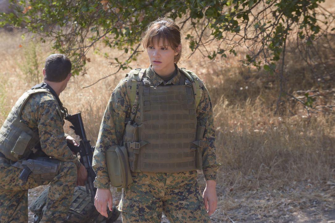 Paige (Katharine McPhee) versucht, das Team Scorpion so gut es geht zusammen zu halten ... - Bildquelle: Ron Jaffe 2014 CBS Broadcasting, Inc. All Rights Reserved
