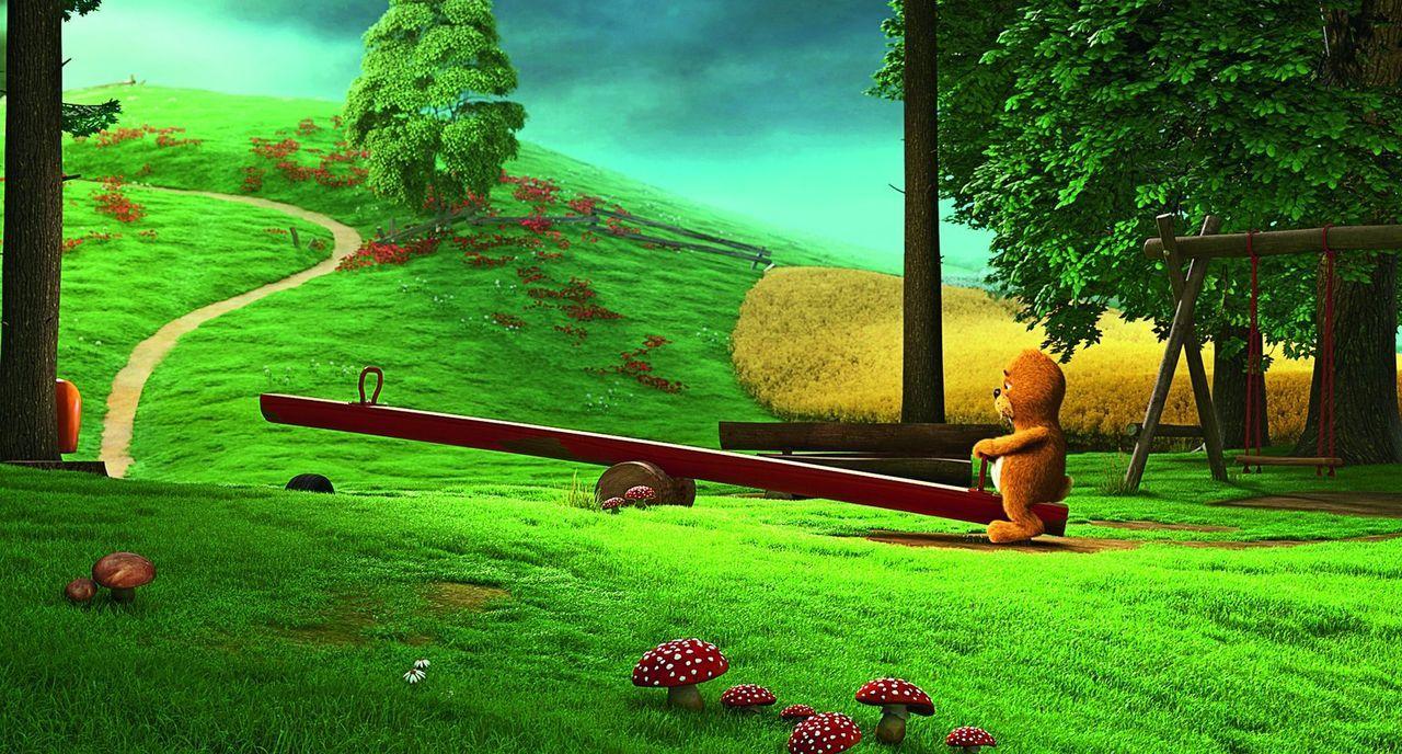 Eigentlich kann der Keinohrhase (Bild) alles, was auch andere Hasen können, aber trotzdem ist er ein Außenseiter, er hat nämlich keine Ohren, was ih... - Bildquelle: Warner Brothers