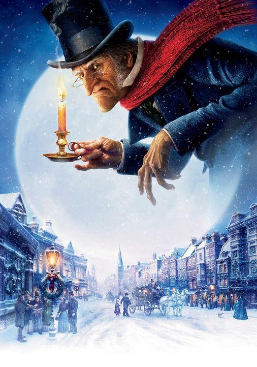 London im 19.Jahrhundert: Der geizige und verbitterte Geldverleiher Ebenezer Scrooge (Jim Carrey) ist ein Mann ohne Freude am Leben und wie es schei... - Bildquelle: Walt Disney Pictures/Imagemovers Digital, LLC.
