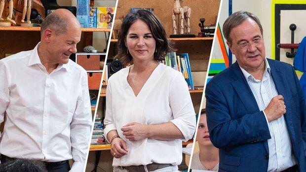 Bundestagswahl - Bundestagswahl - Kannste Kanzleramt? Baerbock, Laschet Und Scholz Zurück In Der Schule