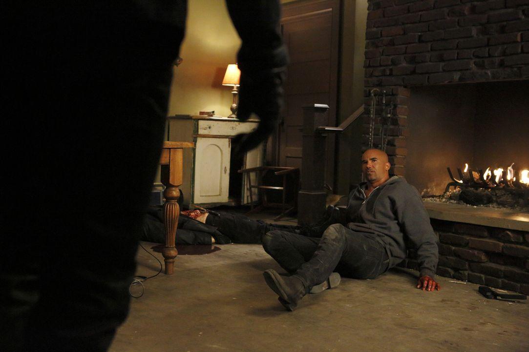 Morgans (Shemar Moore) Entführer haben ihn in eine abgelegene Hütte verschleppt und beginnen, ihn zu foltern. Kommen seine Kollegen noch rechtzeitig... - Bildquelle: Trae Patton ABC Studios