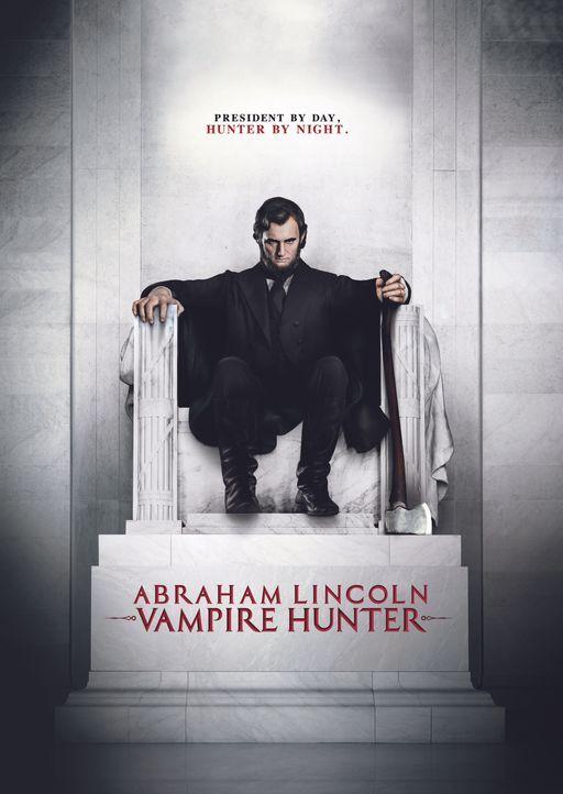 ABRAHAM LINCOLN VAMPIRJÄGER - Plakatmotiv - Bildquelle: 2012 Twentieth Century Fox Film Corporation. All rights reserved.