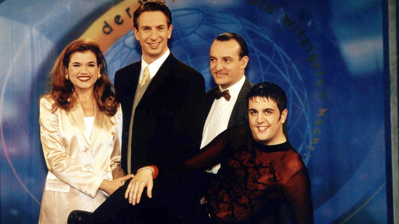 1996-Wochenshow - Bildquelle: SAT.1/Juergens