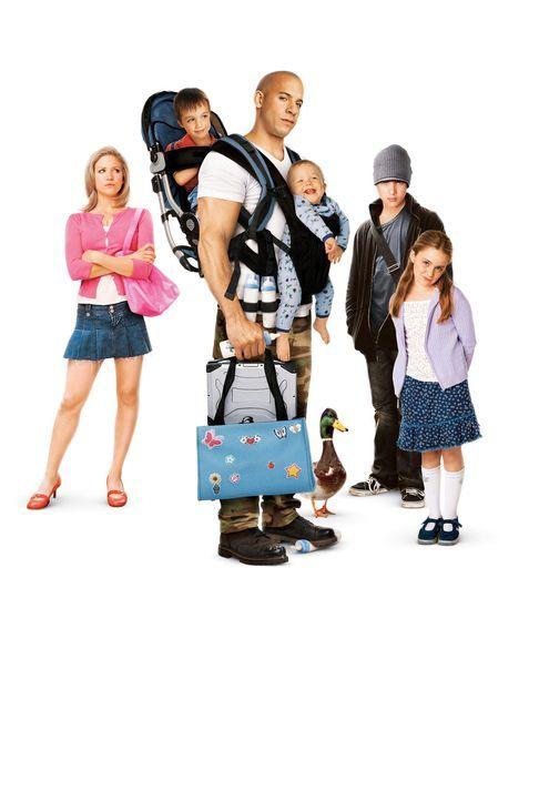 Der Babynator ... - Bildquelle: Walt Disney Pictures, Spyglass Entertainment. All Rights Reserved