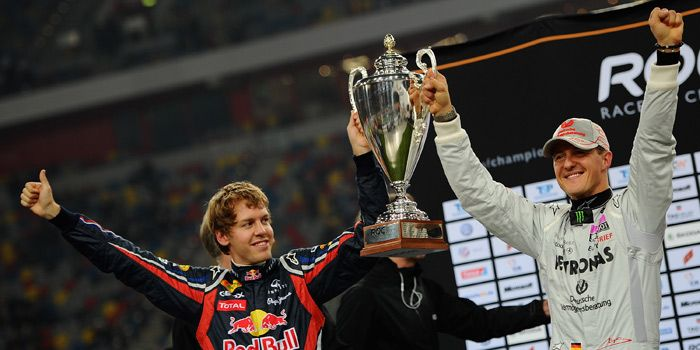 Sebastian Vettel, Michael Schumacher, Race of Champions - Bildquelle: Getty