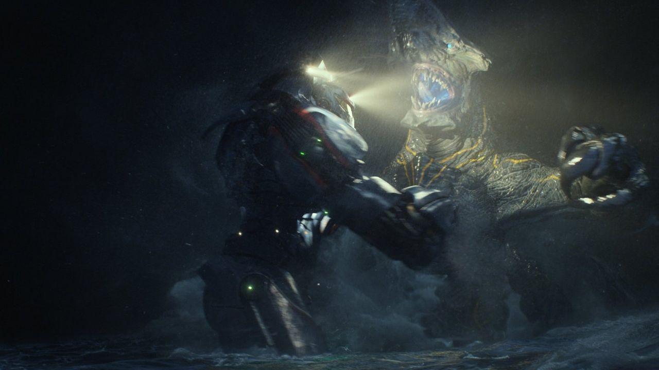 Im Jahr 2013 wird die Erde von außerirdischen Monstern heimgesucht. Die sogenannten Kaijus kommen aus einem interdimensionalen Portal im pazifischen... - Bildquelle: 2013 Warner Bros. Entertainment Inc. and Legendary Pictures Funding, LLC