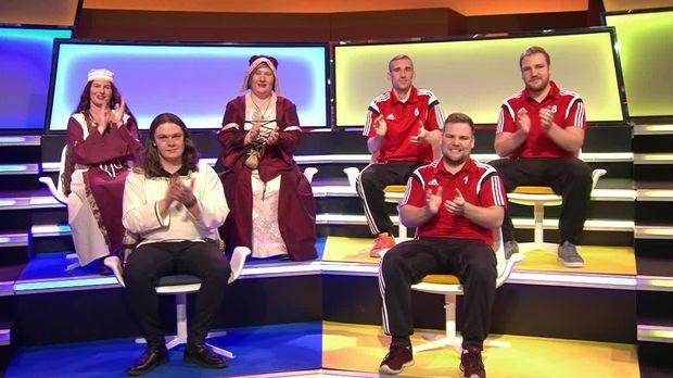 Genial Daneben - Das Quiz - Genial Daneben - Das Quiz - Mittelalterclan Gegen Faustball: Das Teamspecial!