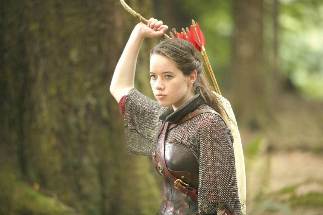 Muss sich auf dem Schlachtfeld bewähren: Bogenschützin Susan (Anna Popplewell) ... - Bildquelle: Disney - ABC - ESPN Television
