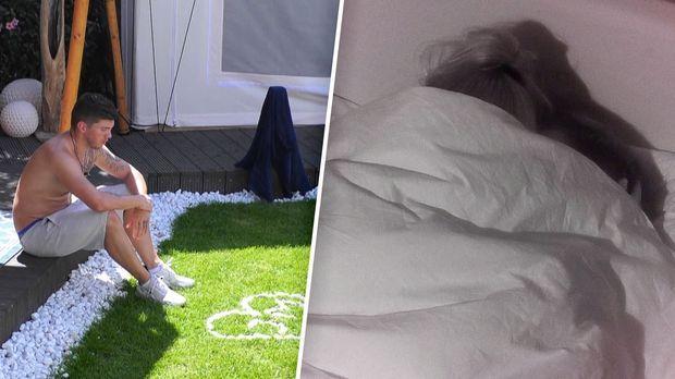 Promi Big Brother - Promi Big Brother - Tag 6: Liebesschmerz Vs. Geheimnisse Unter Der Bettdecke