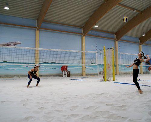 Die beiden spielen seit 2006 zusammen und sind zu den Shootingstars des deutschen Beachvolleyballs geworden. - Bildquelle: Danilo Brandt - Sat.1