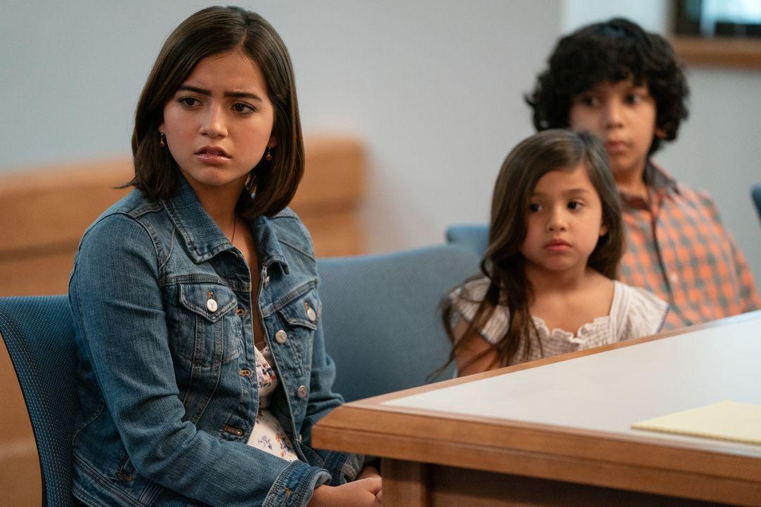 (v.l.n.r.) Lizzy (Isabela Moner); Lita (Julianna Gamiz); Juan (Gustavo Quiroz) - Bildquelle: Hopper Stone 2018 Paramount Pictures. All rights reserved. / Hopper Stone