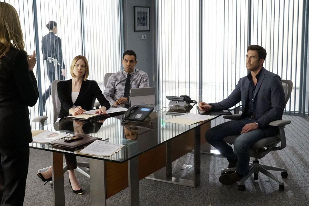 Stellen fest, dass sie es bei Ray, mit einem ganz schwierigen Fall zu tun haben und, dass sie alles versuchen müssen, um Beth zu beschützen: Jack (D... - Bildquelle: Warner Bros. Entertainment, Inc.