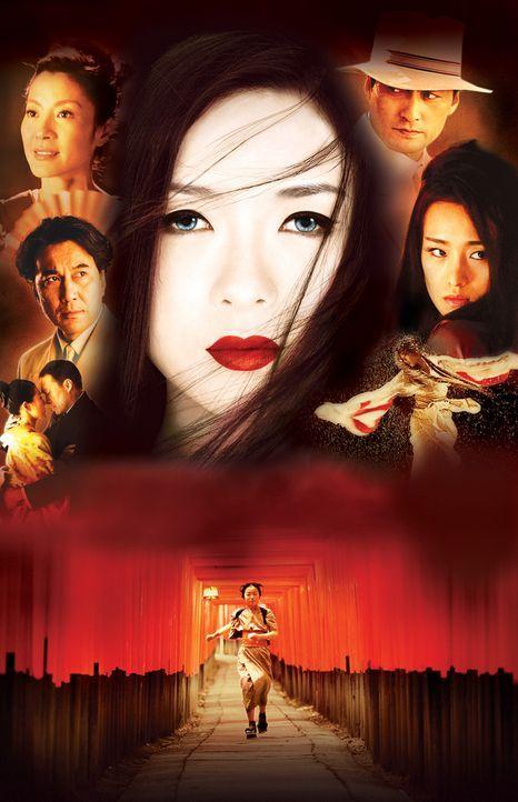 Bereits als Kind musste Sayuri Nitta (Ziyi Zhang, M.) ihr Elternhaus verlassen, um als Hausmädchen in einem Geisha-Haus Geld zu verdienen. Schon bal... - Bildquelle: 2005 Sony Pictures Television International.