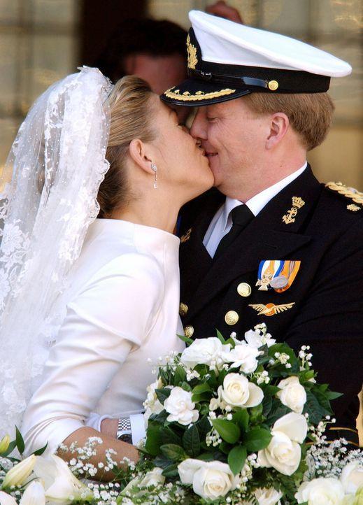 Hochzeit-Kronprinz-Willem-Alexander-Prinzessin-Maxima-02-02-02-dpa - Bildquelle: dpa