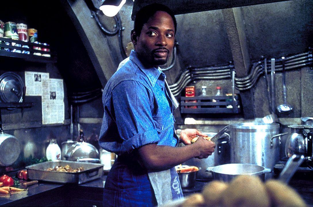 Die Verpflegung der Mannschaft fällt in sein Ressort: Eddie (Terrence 'T.C.' Carson) ... - Bildquelle: 2000 Universal Pictures. All Rights Reserved