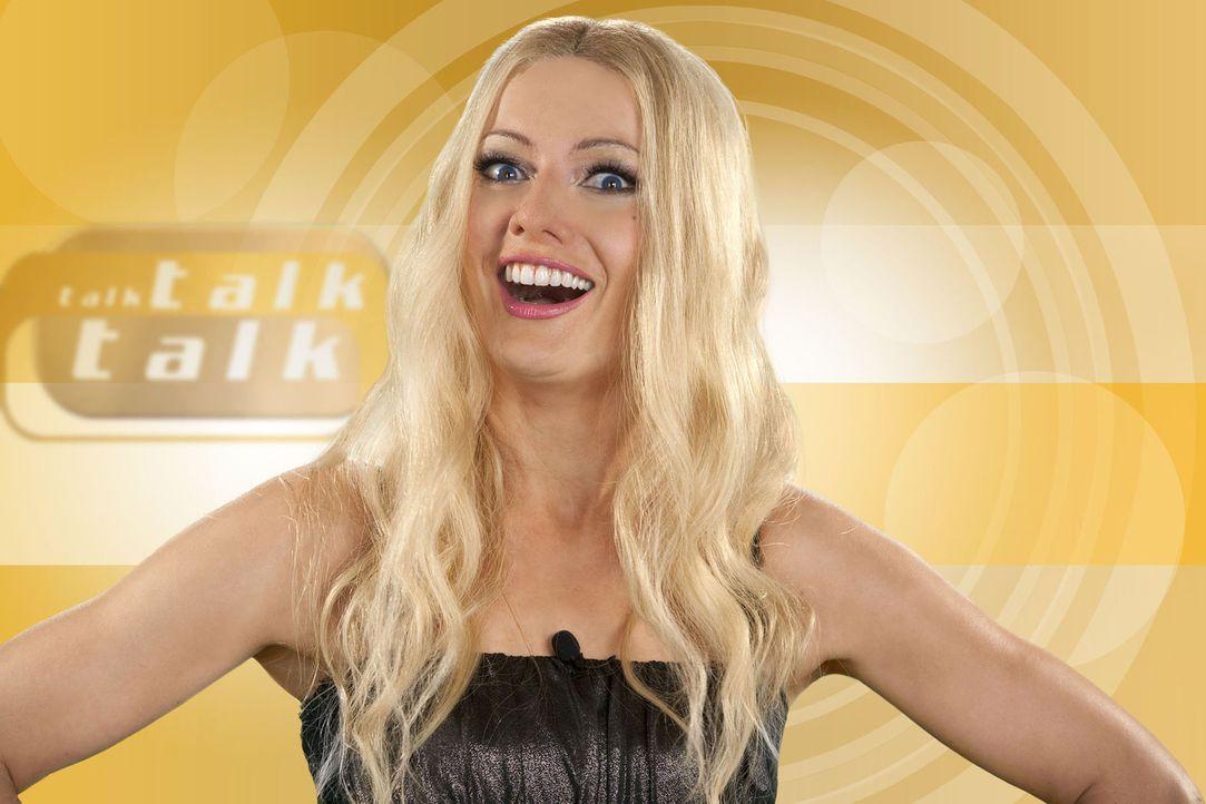 (4. Staffel) - Talkshows sind ihr Spezialgebiet: Sonya Kraus (Martina Hill) - Bildquelle: Kai Schulz ProSieben
