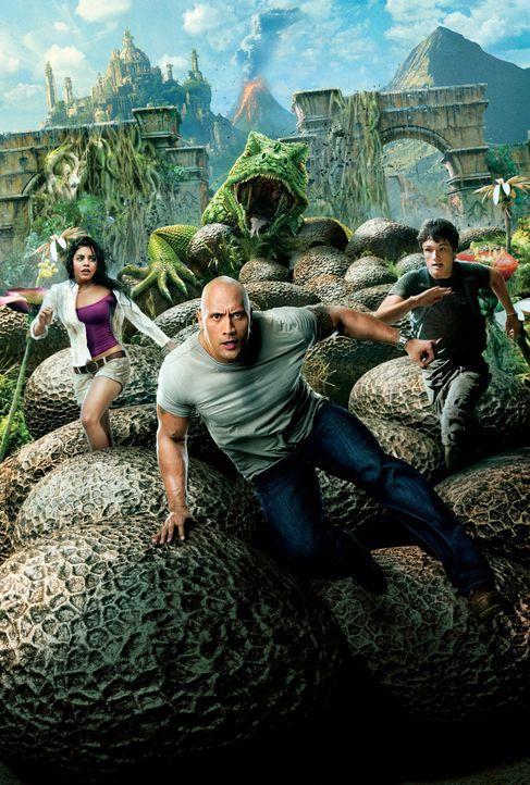 Die Reise zur geheimnisvollen Insel - Artwork - Bildquelle: Warner Bros.