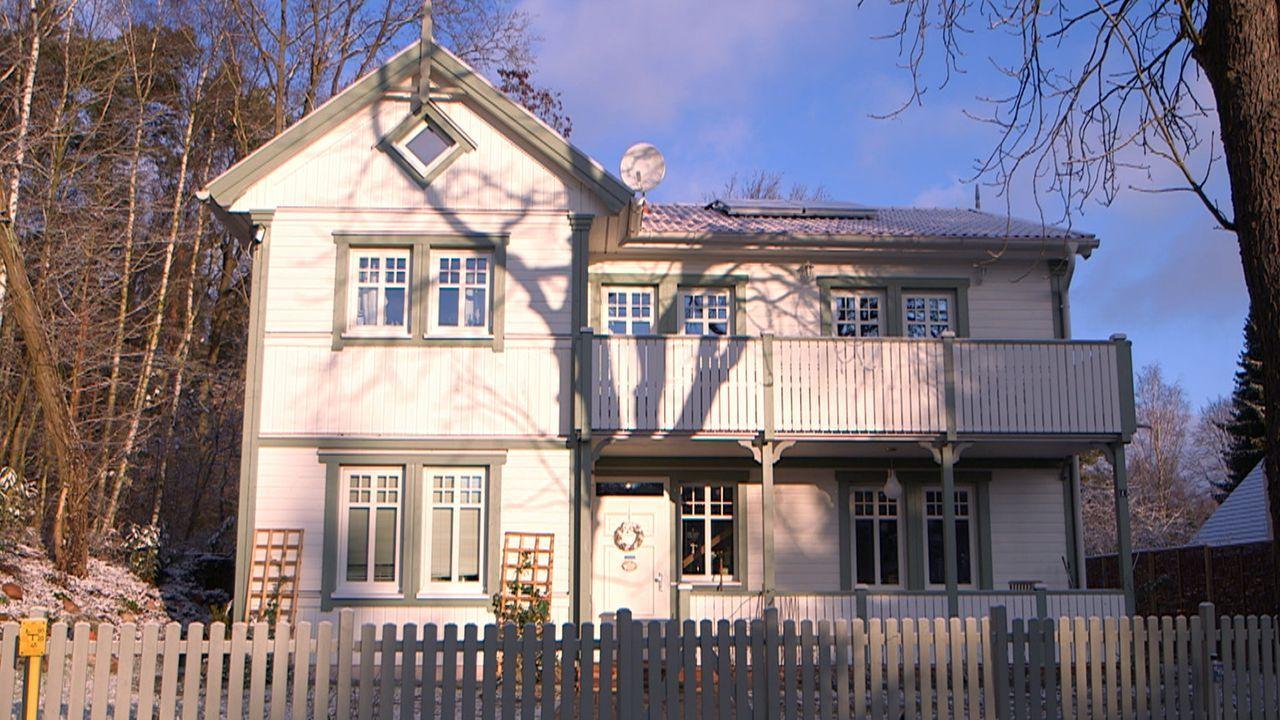 Das Haus der Patchwork-Family Jäger/Wischnewski ... - Bildquelle: SAT.1