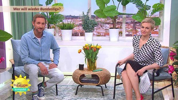 Frühstücksfernsehen - Frühstücksfernsehen - 15.05.2020: Die Gntm-finalistinnen, T-shirts Aus Algen & Geisterspiele In Der Bundesliga